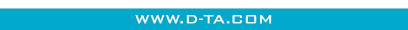 D-TA footer www.D-TA.COM
