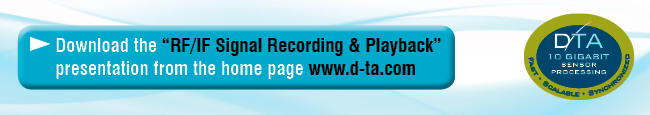 For more information contact: sales@d-ta.com