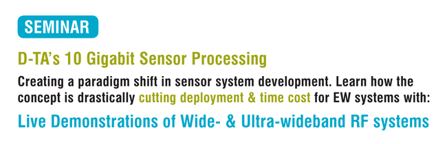 Technical Seminar: 10 Gigabit Sensor Processing Simplifies ISR System Development