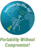 Spectrum On-The-Go -- Portability WithoutCompromise!